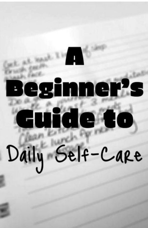Self-Care Pinterest